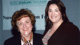 Dr. Louise Fitzpatrick and Jennifer Specht
