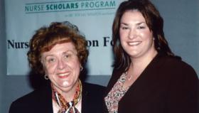 Dr. Louise Fitzpatrick and Jennifer Specht